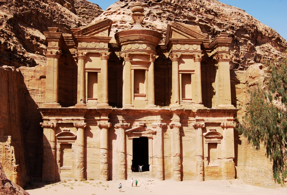 Petra Monastery Front On