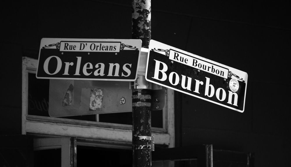 Orleans Street / Bourbon Street