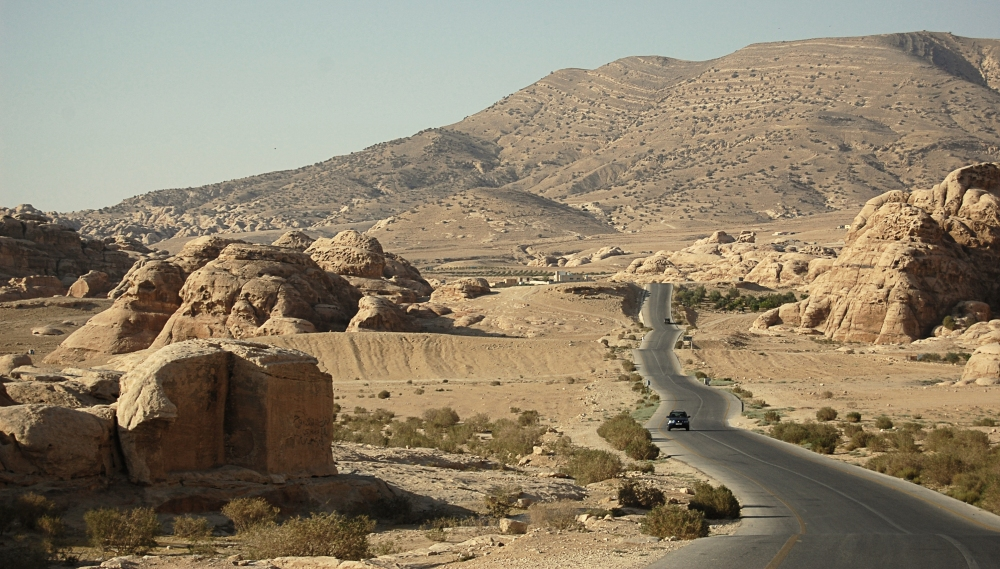 The Rocky Wilderness of Jordan