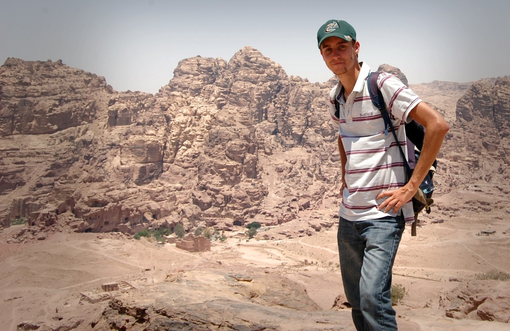 Looking Over Petra