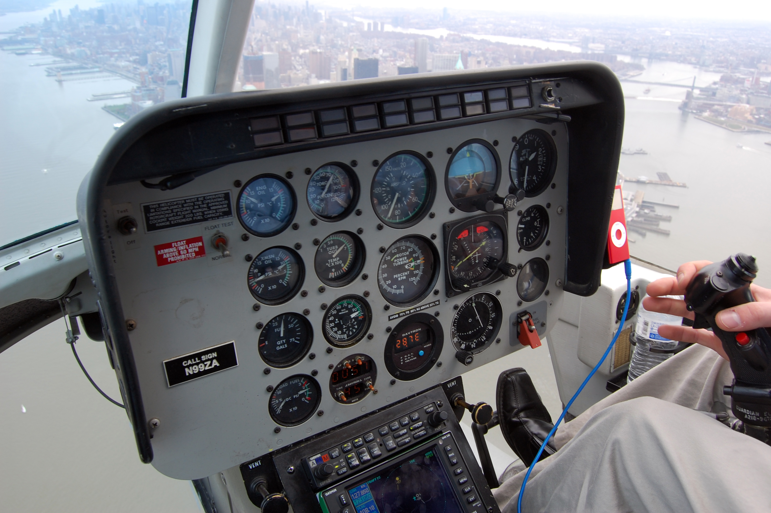 New York Helicopter Console