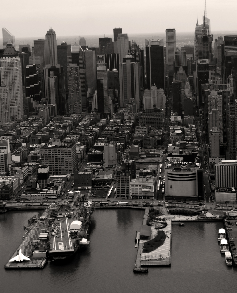 Manhattan from Helicopter