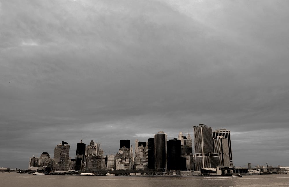 New York City Ferry View