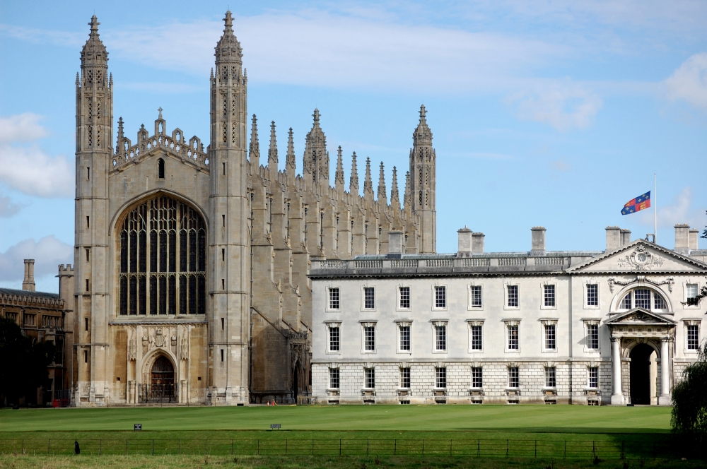 King's College Cambridge from Backs