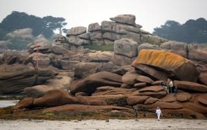 Granite Coast Pile of Rocks