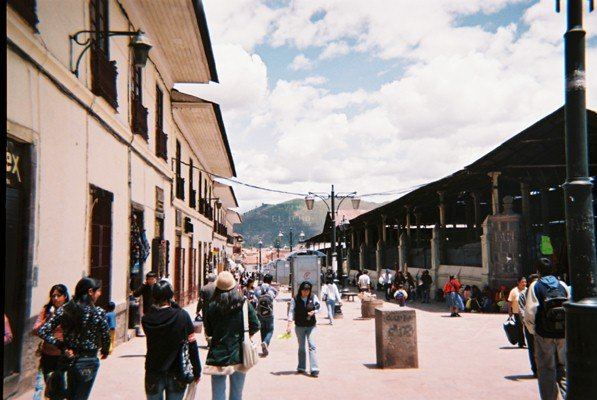 Small Town in the Amazon Rainforest