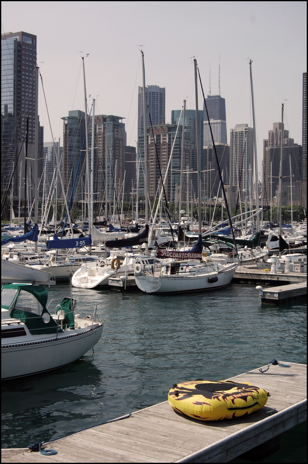 Chicago Boats in Water
