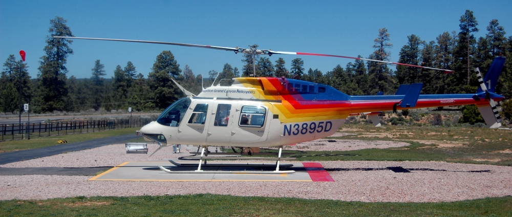 Helicopter for Grand Canyon Tour