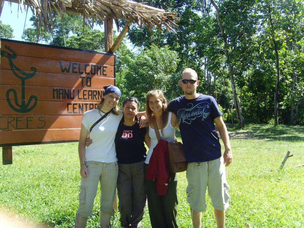 Volunteering in Amazon Rainforest Home