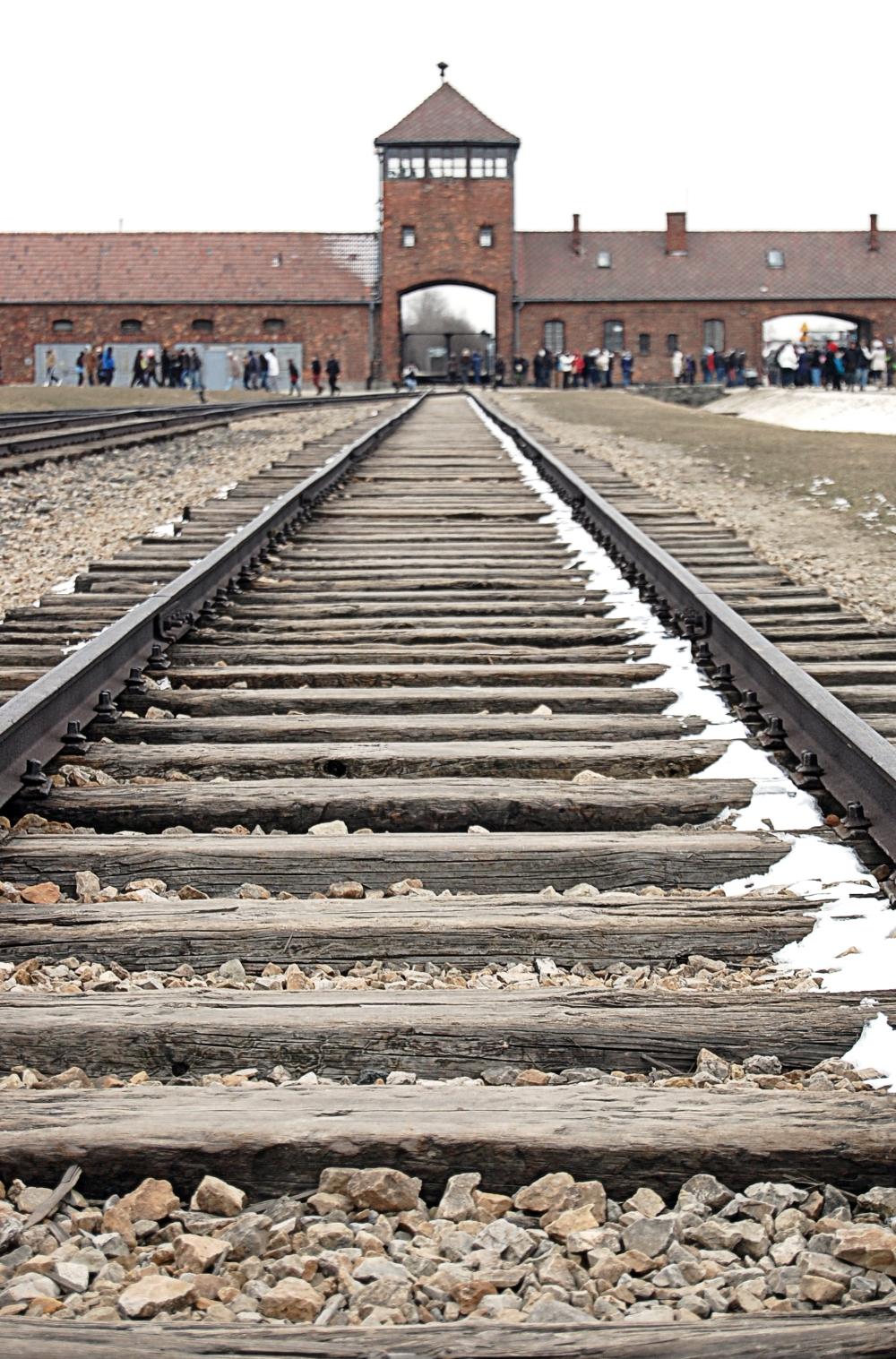 Auschwitz-Birkenau Train Track