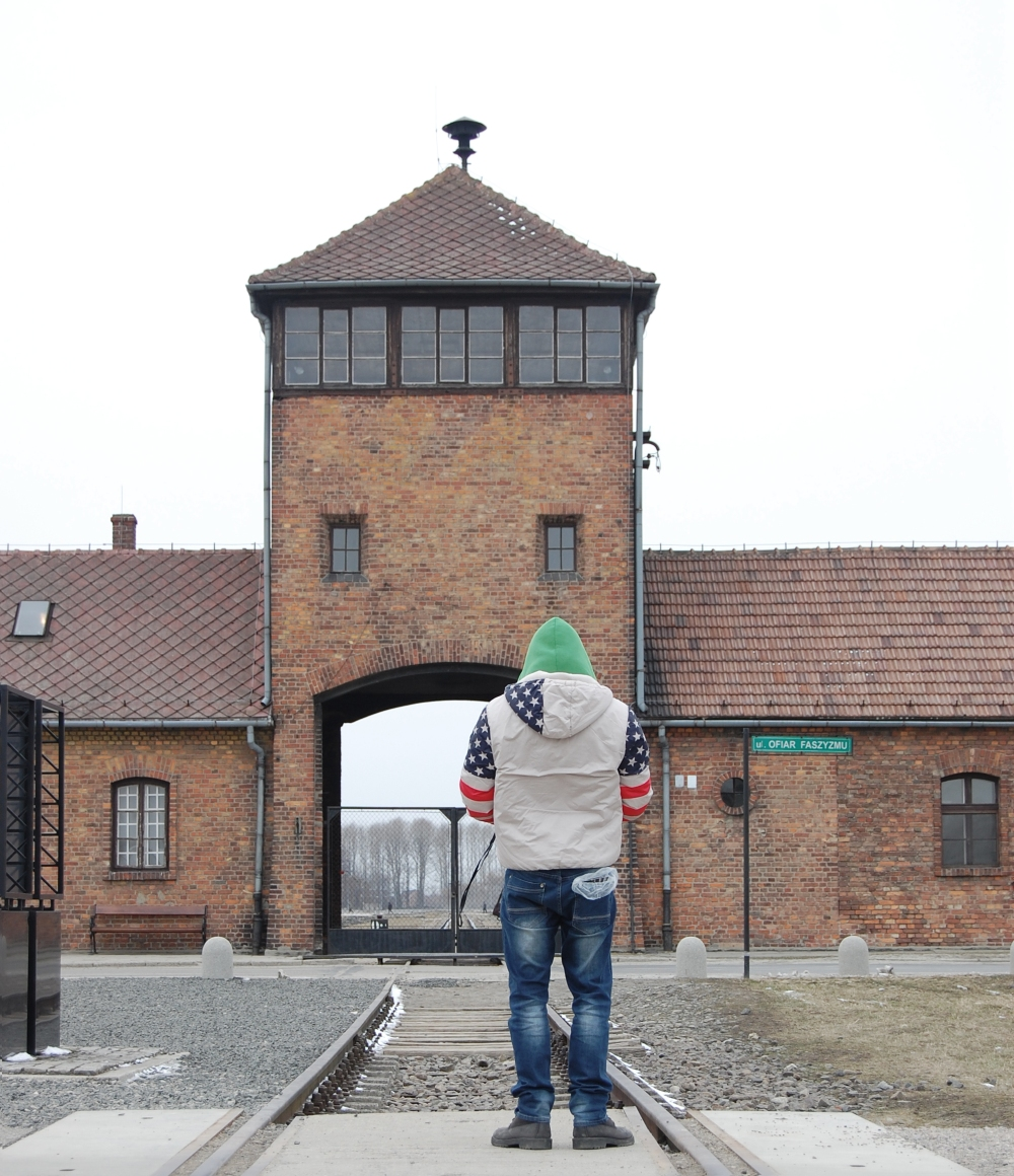 Gate at Auschwitz - Birkenau