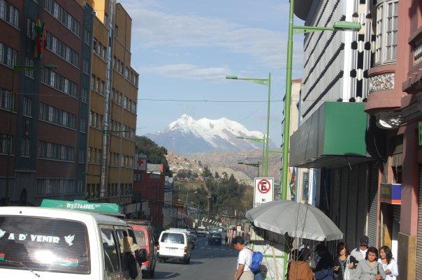 La Paz, Bolivia, city centre