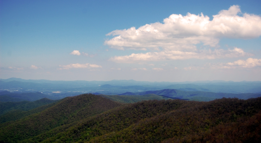Blue Ridge Mountains View, North Carolina
