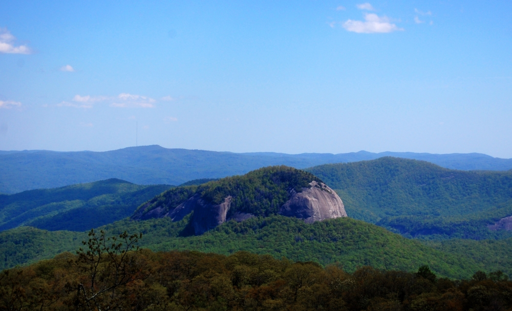 Blue Ridge Mountains Rock View