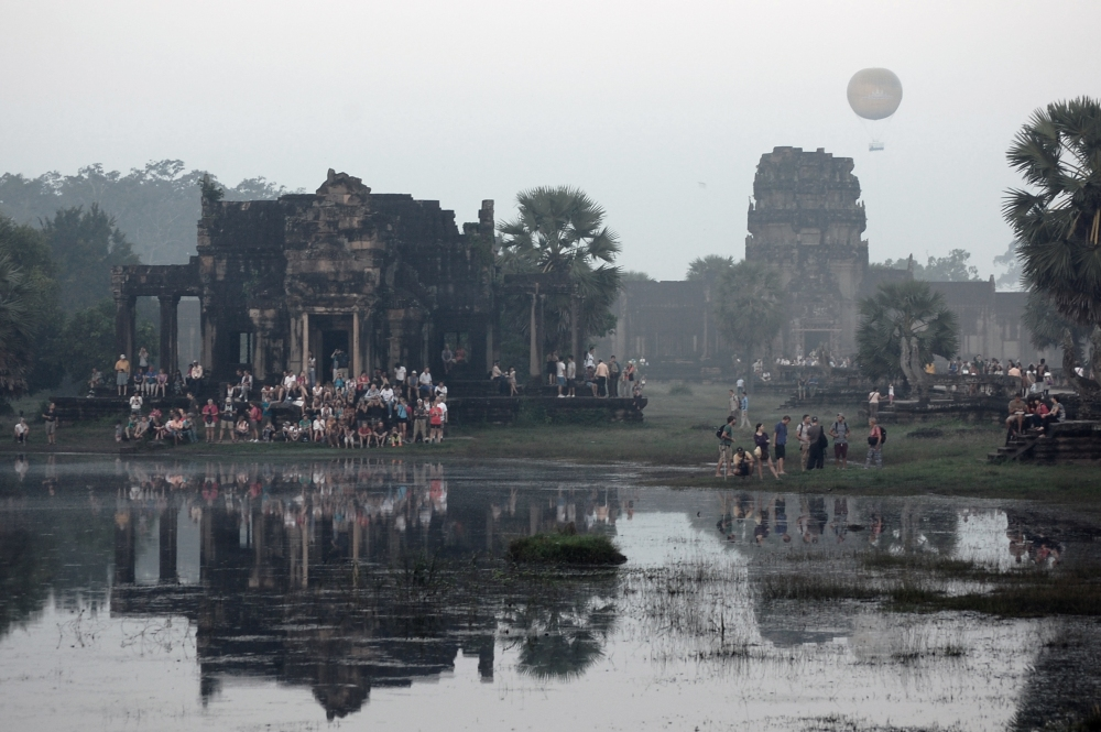 Angkor Air Balloon Landscape