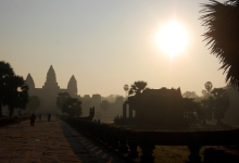 Dawn at Angkor Wat Outside Siem Reap