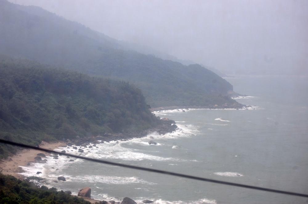 View from Vietnam Sleeper Train