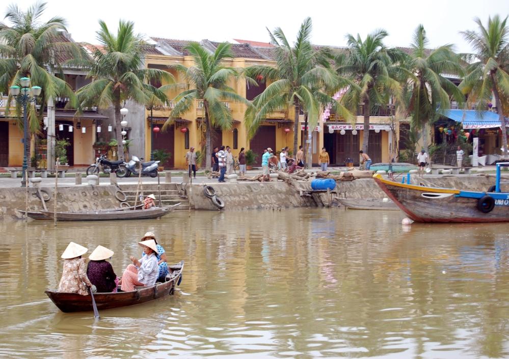 Hoi An Water Scene, Vietnam