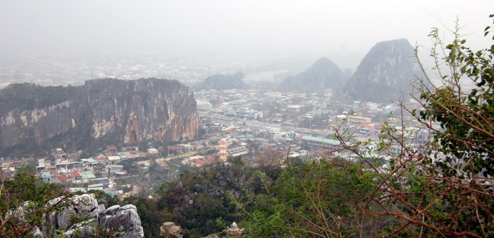 Top of Marble Mountains, Vietnam