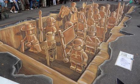 Depth Perception Street Art