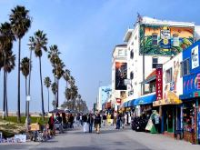 Boardwalk at Venice Beach