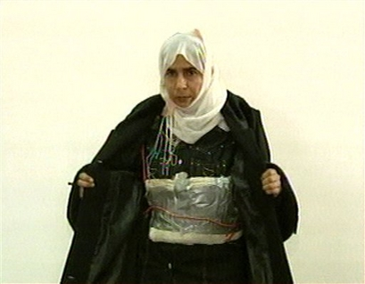 Suicide Bomb Jacket Woman