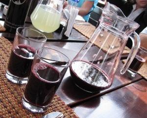 Chicha Morada purple corn drink