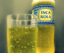 Inca Kola, national drink of Peru