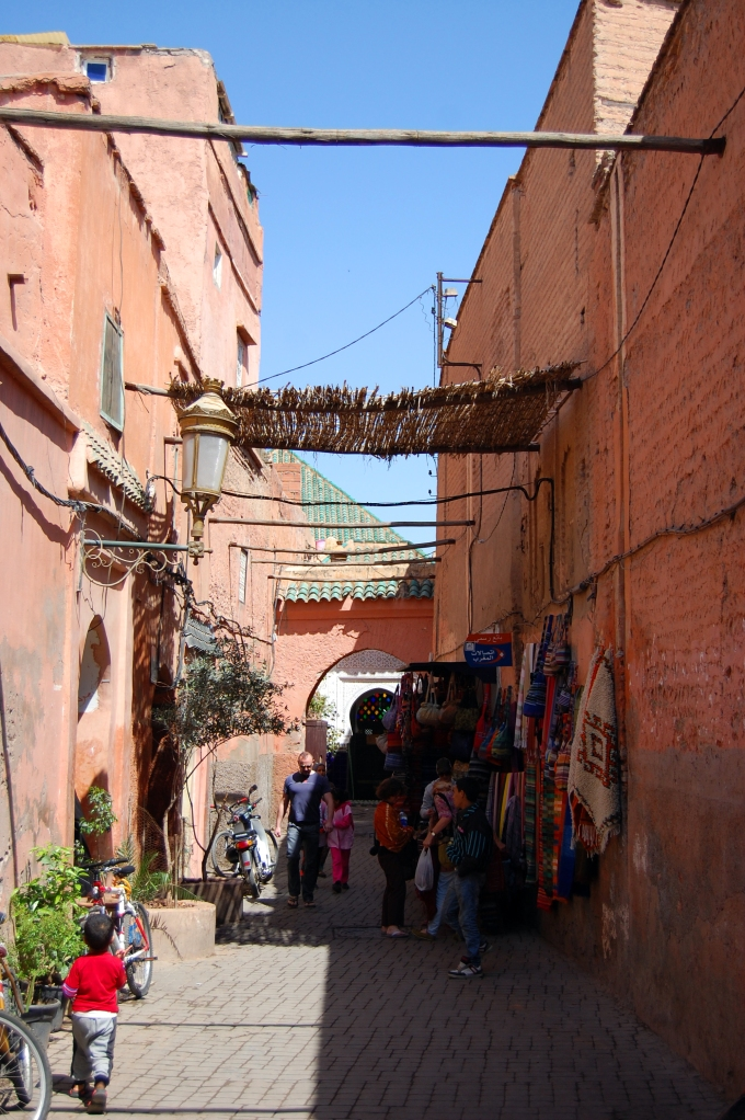 Marrakech Old City Alley