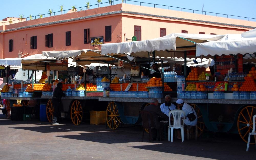 Orange Juice at Jamaa el Fna