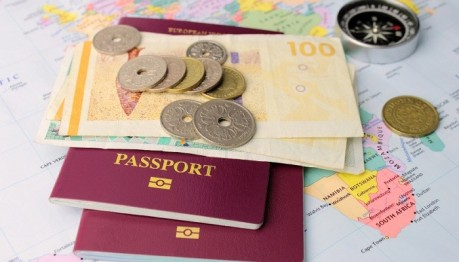 Travel Money with Passport