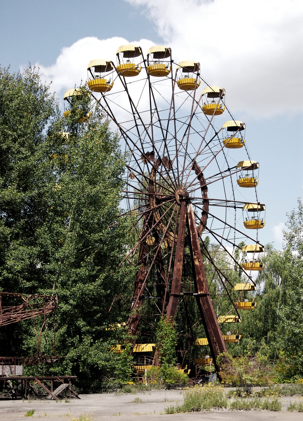 Chernobyl Fairground Wheel