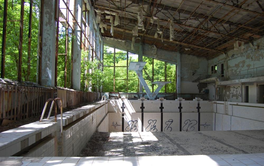 Chernobyl Gym Pool