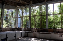Chernobyl Swimming Pool