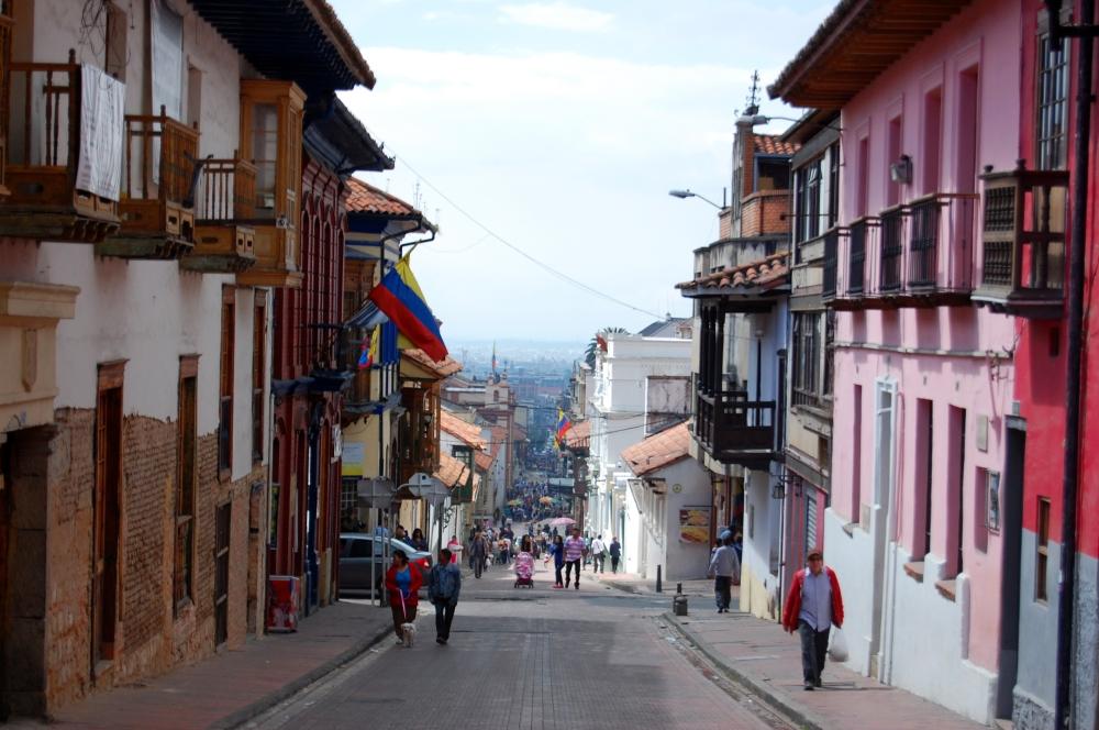 Bogotá old city Candelaria