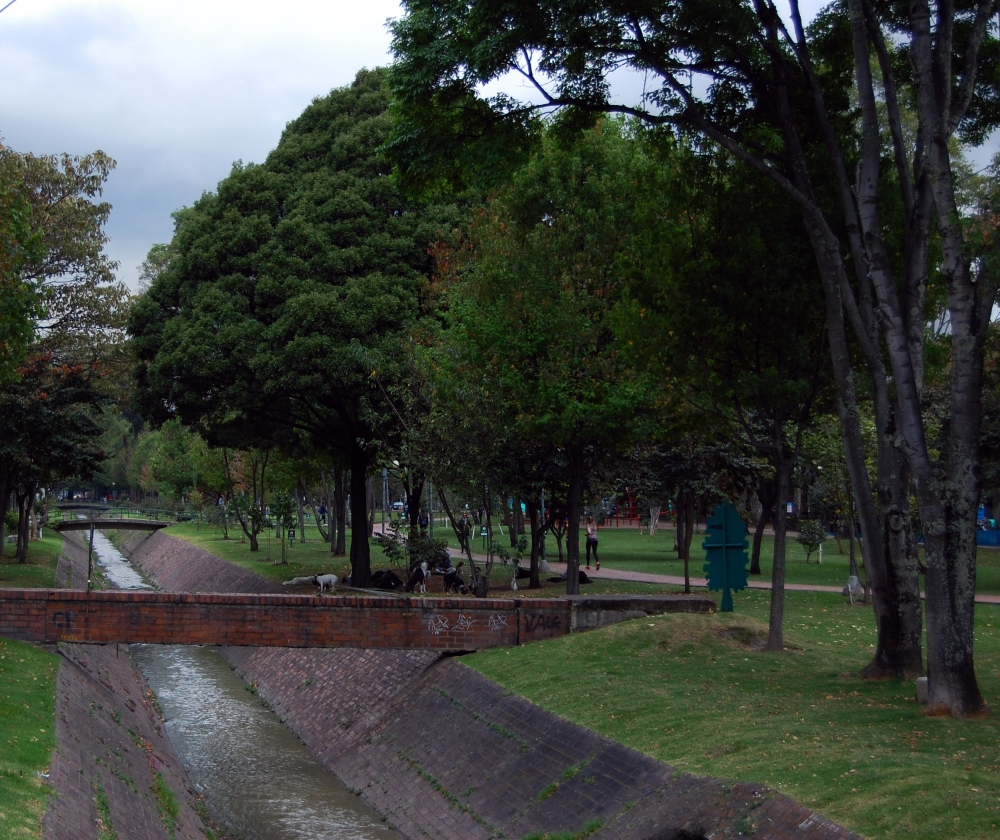 Virrey Park, Bogotá. Not the nicest park I've ever laid eyes on but we went here no less than four times.