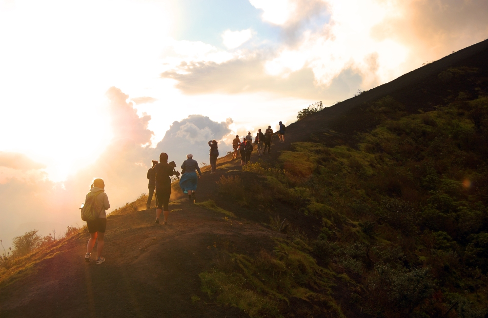 Pacaya Volcano Hike Sunset