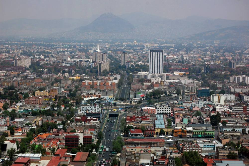 Torre Latinoamericana View of Mexico City