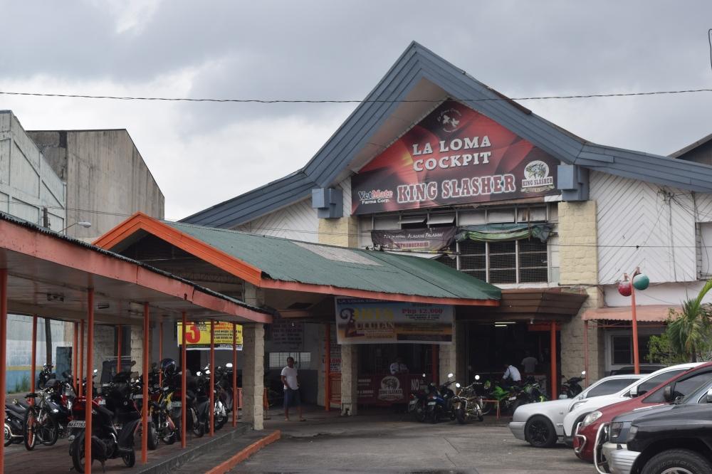 Cockfighting Arena in Manila
