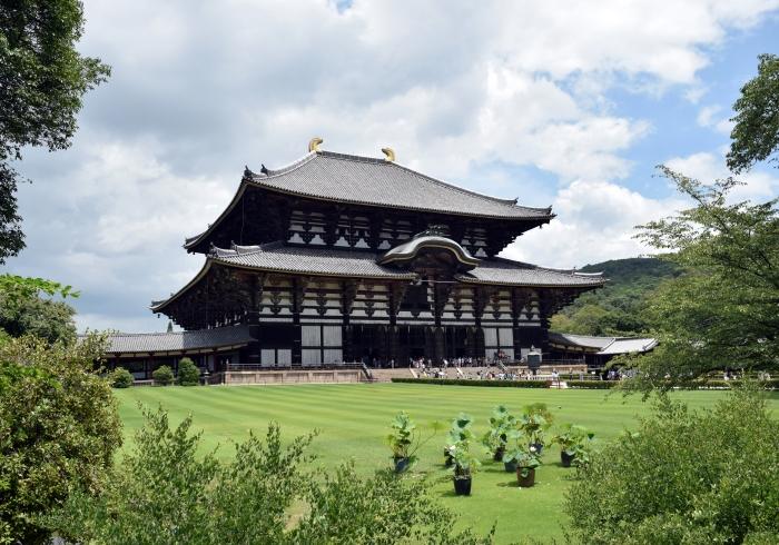 Tōdai-ji Temple Complex in Nara, Japan