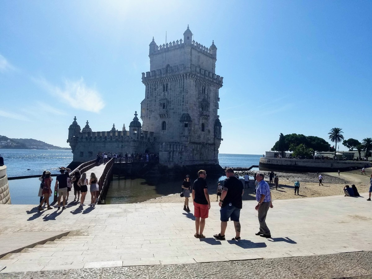 The Worst of Humanity at Belém Tower, Lisbon
